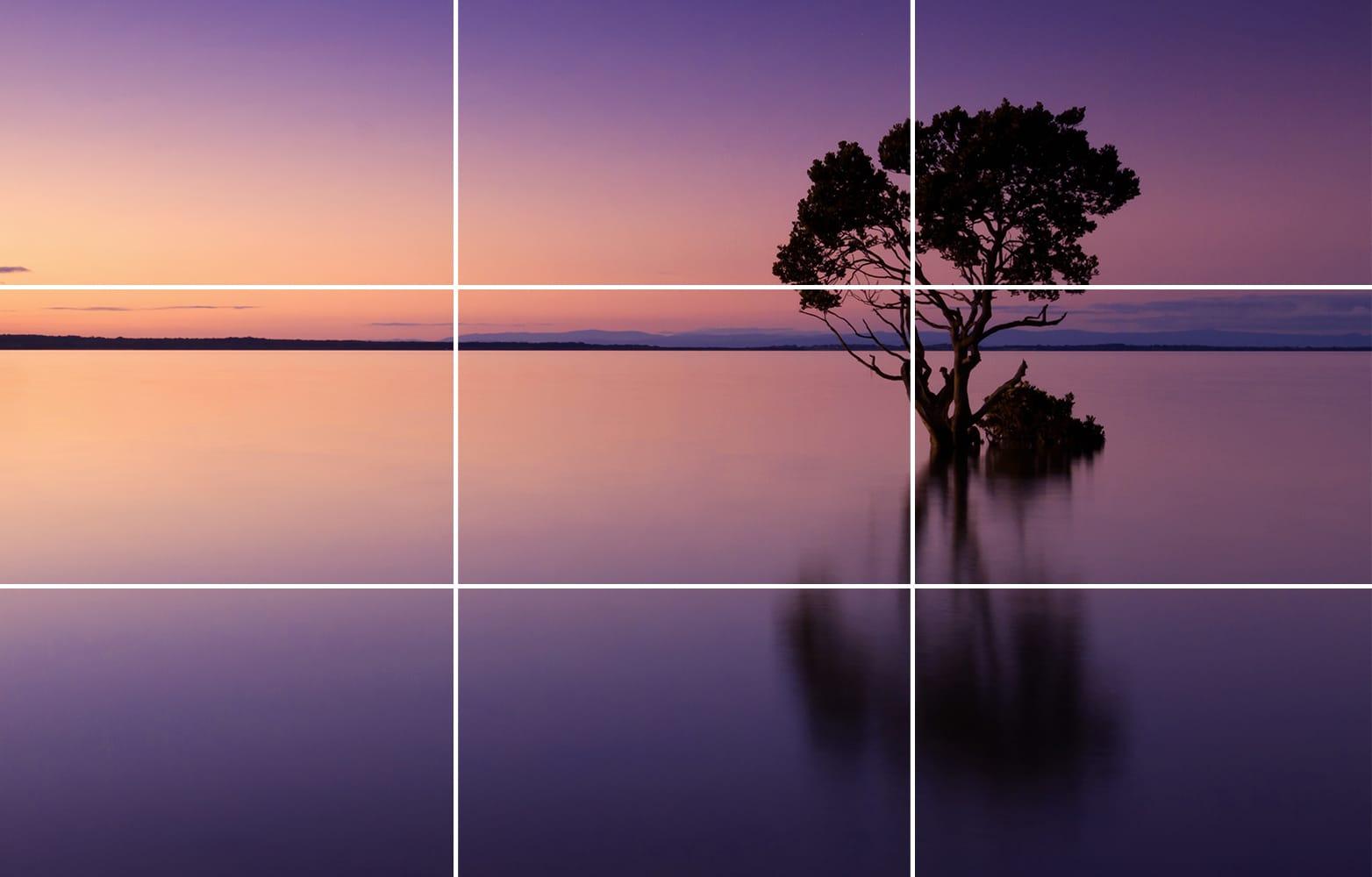 قانون یک سوم در ترکیب بندی عکاسی