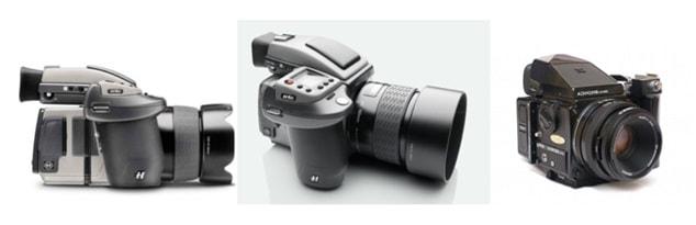 دوربین قطع متوسط medium format
