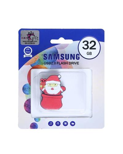 فلش مموری 32 گیگ عروسکی مدل بابانوئل سامسونگ