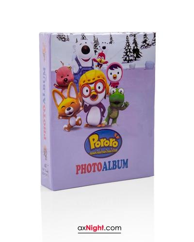 آلبوم عکس پاکتی 10×15فانتزی 200 تایی طرح پورورو