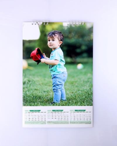 تقویم دیواری با چاپ عکس دلخواه